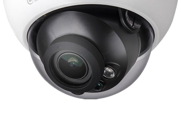 高清(600万像素)星光级H.265红外半球型网络摄像机