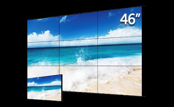 46寸3.3mm拼缝LED标亮液晶拼接单元